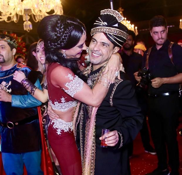 Graciele Lacerda e Zezé Di Camargo (Foto: Manuela Scarpa/Brazil News)