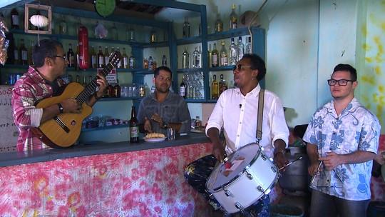 A 'Trilha Musicada' do percussionista e cantor Peu Meurray