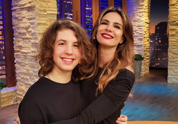 Luciana Gimenez e Lucas Jagger (Foto: Divulgação/RedeTV!)