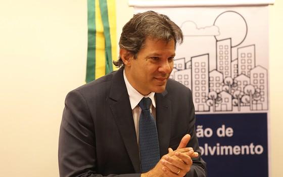 O ex-prefeito de São Paulo Fernando Haddad (Foto: Foto Ailton de Freitas / Agência O Globo)