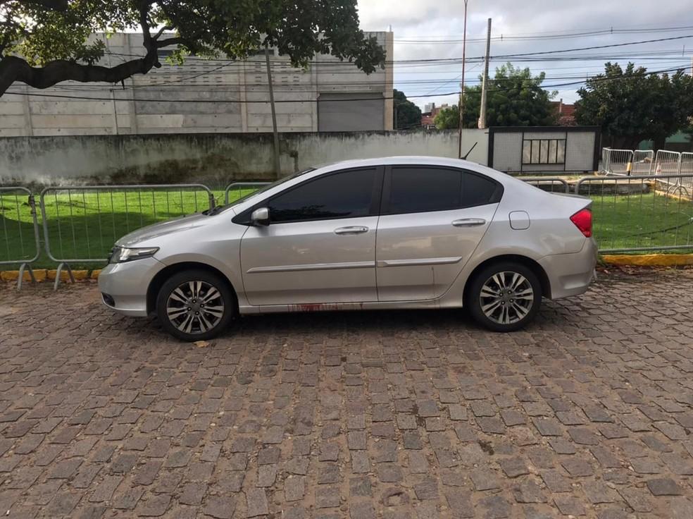 Motorista de aplicativo reagiu a assalto, baleou assaltante e também foi atingido por tiros. — Foto: Kleber Teixeira/Inter TV Cabugi