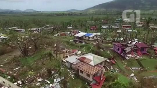 Número de mortos por ciclone em Fiji chega a 36, diz Cruz Vermelha
