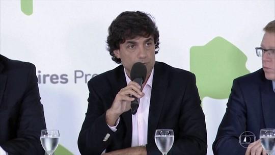 Presidente da Argentina anuncia novo Ministro da Fazenda do país