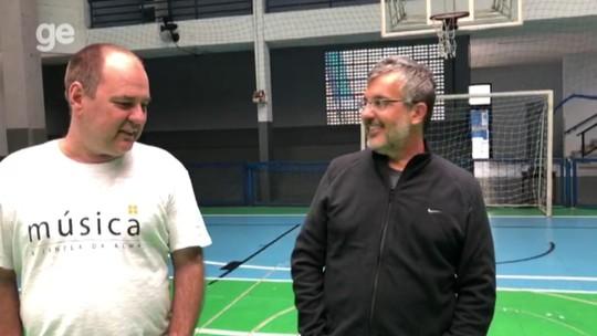 Raiz no futsal e goleiro quase por acaso: Lomba revive origens em duelo com o Flamengo