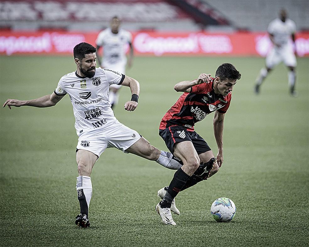 Athletico-PR Ceará — Foto: Miguel Basso/Ceará SC