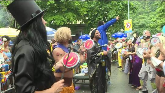 Bloco Desliga da Justiça completa dez anos no carnaval carioca