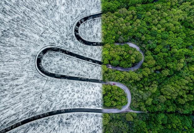 Foto de drones em concurso são sensacionais (Foto: Reprodução)