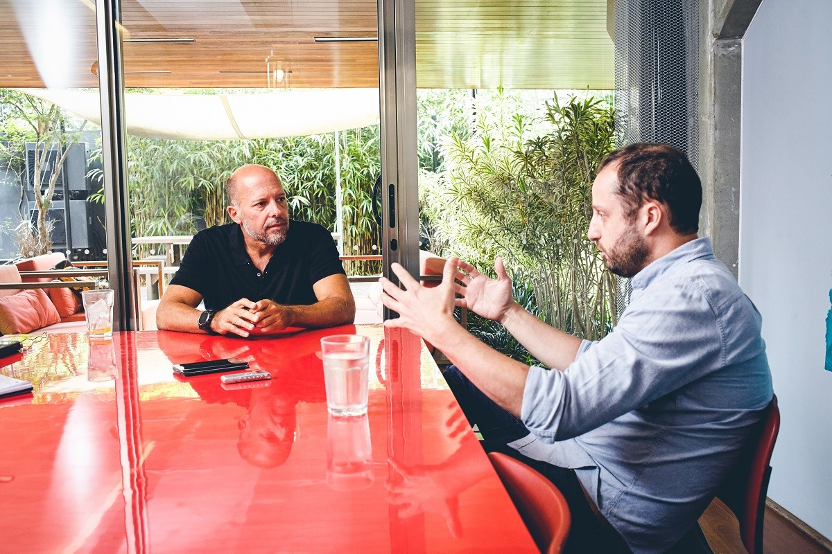 Empresários conversam sobre o futuro das moradias (Foto: Arthur Nobre/Época NEGÓCIOS)