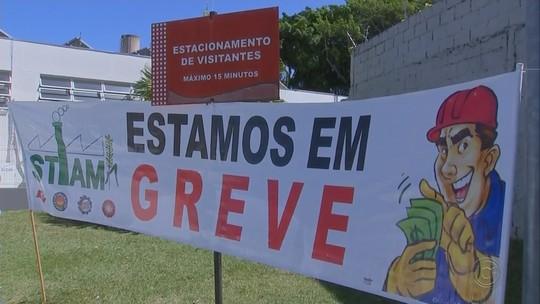 Funcionários de fábrica de bebidas de Marília entram em greve