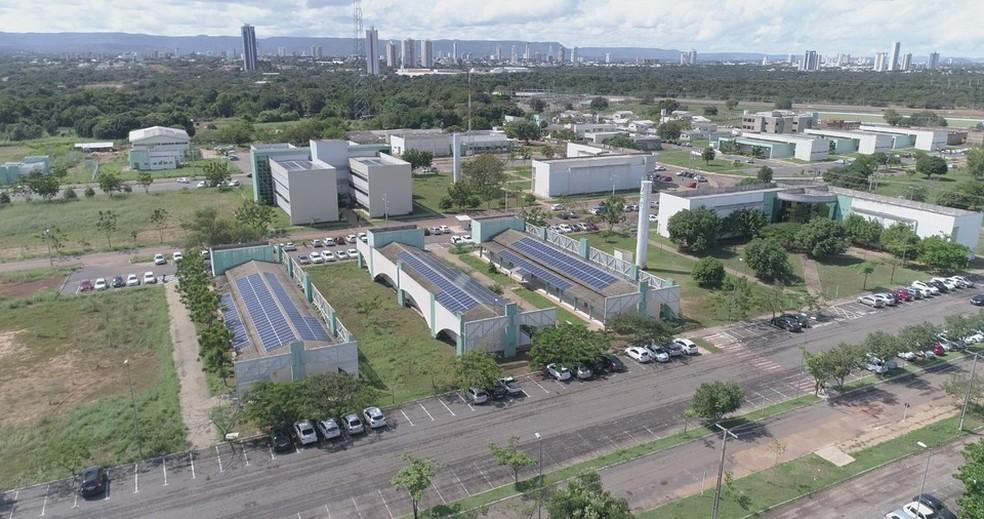 Campus de Palmas da UFT — Foto: Divulgação/Audiovisual UFT