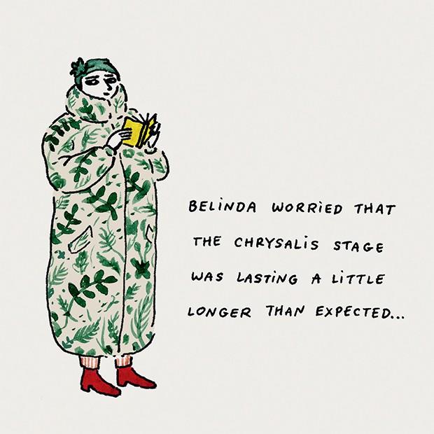 Beleza Gucci - @joanaavillez mora em Nova York e começou a desenhar mulheres quando era criança (Foto: Divulgalção)