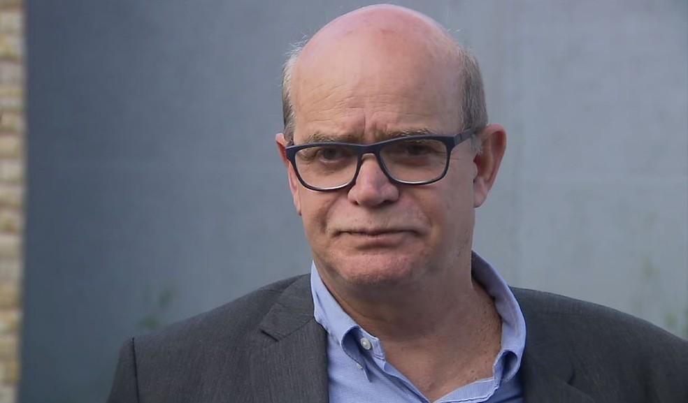 Após ouvir testemunhas, delegado Amadeu Trevisan disse que 'não houve tentativa de estupro' em caso da morte do jogador Daniel — Foto: Reprodução/RPC
