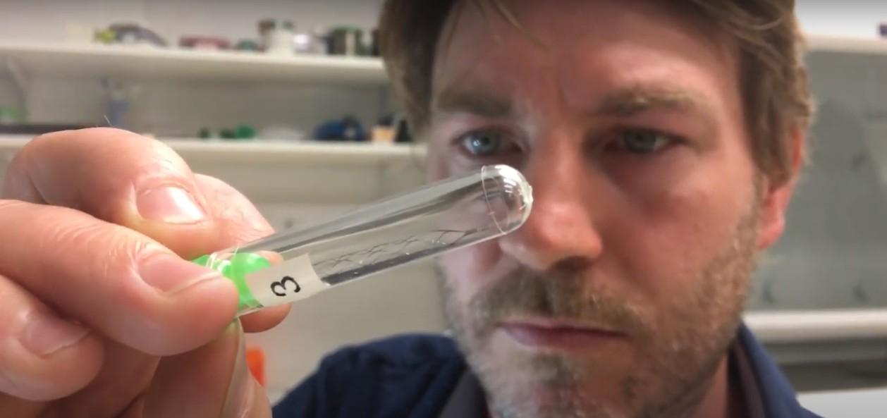 Dispositivo ajuda pacientes com paralisia severa a controlar máquinas (Foto: The University of Melbourne/Reprodução)