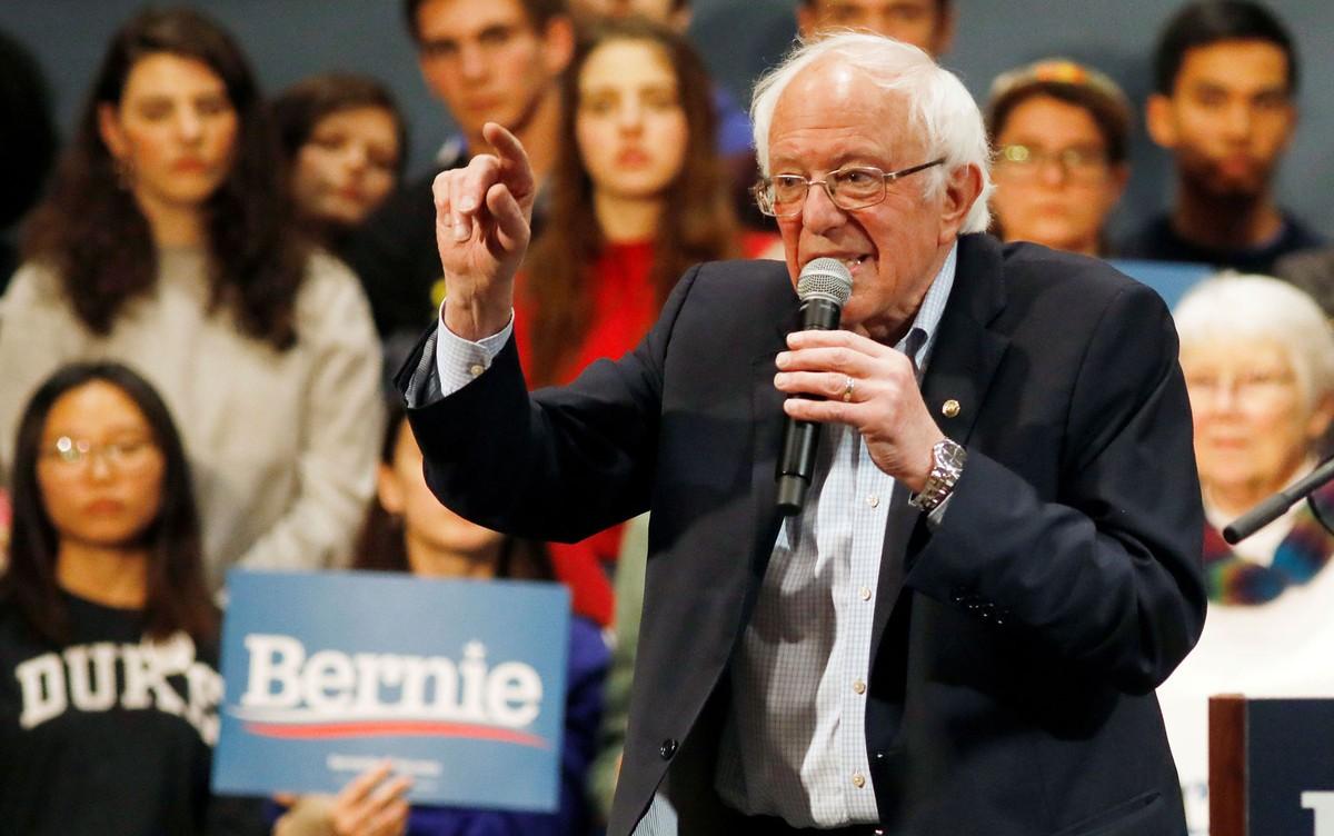 Rússia tenta interferir para ajudar Bernie Sanders nas eleições nos EUA, diz jornal image
