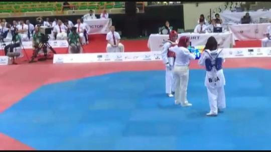 Brasileira entra para história do Taekwondo ao conquistar medalha inédita
