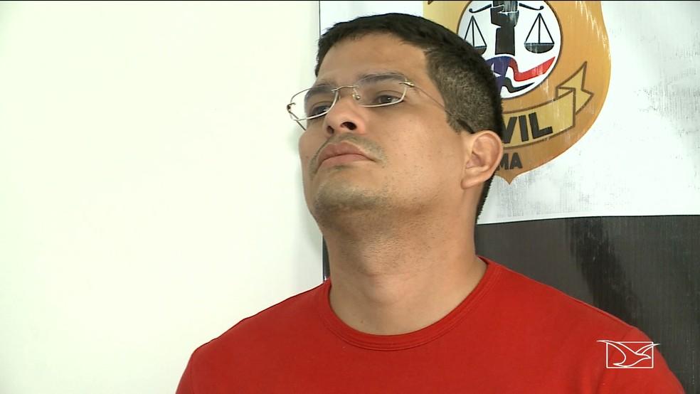 Leonel Silva Pires responde a quatro processos na Polícia Civil do Maranhão e na Polícia Federal.  — Foto: Reprodução/TV Mirante