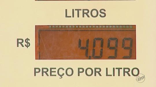 Preço da gasolina ultrapassa R$ 4 em Matão, SP, e é o maior da região, diz ANP