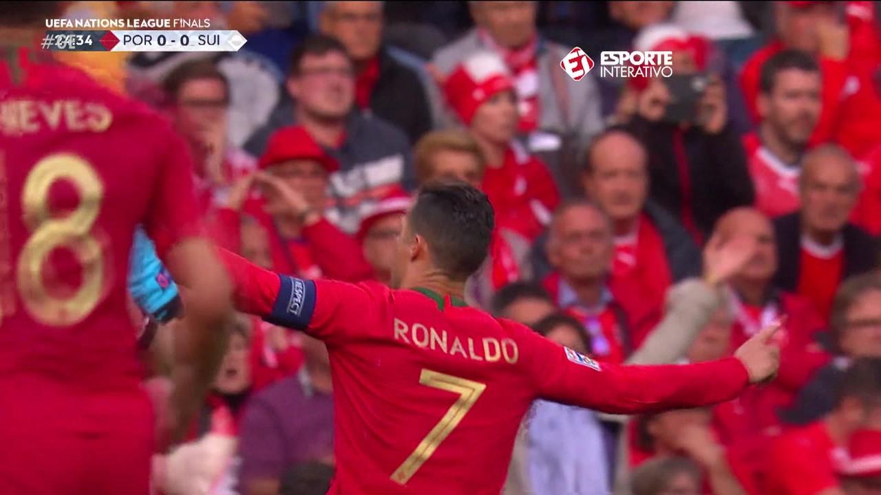Portugal 3 x 1 Suíça: atuação de gala na semi da Liga das Nações