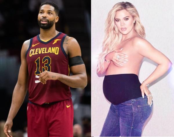 O jogador de basquete Tristan Thompson e a socialite Khloé Kardashian (Foto: Getty Images/Instagram)