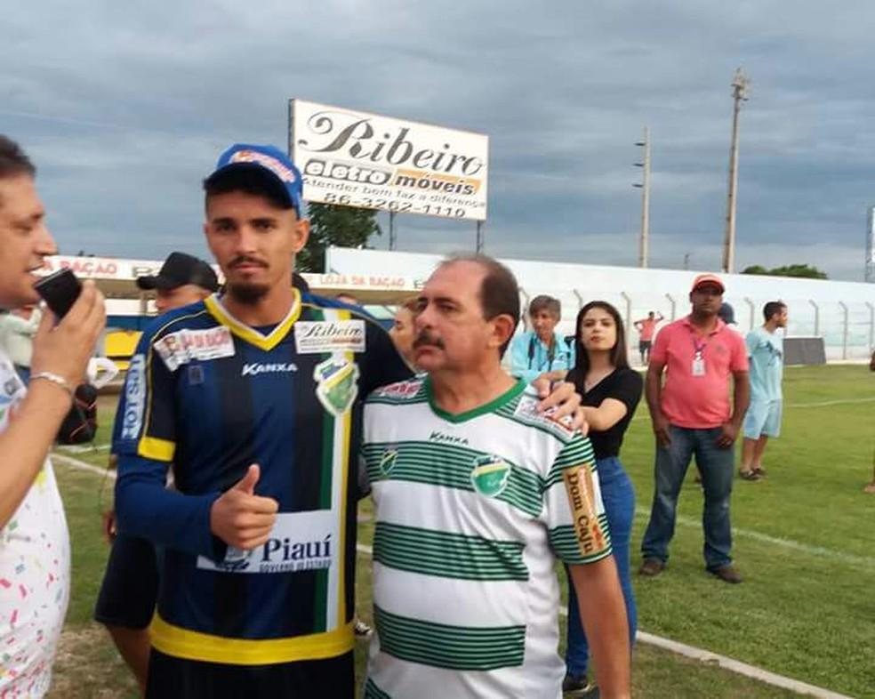 Carlinhos Leal, presidente em exercício do Altos (Foto: Luís Júnior / Altos)