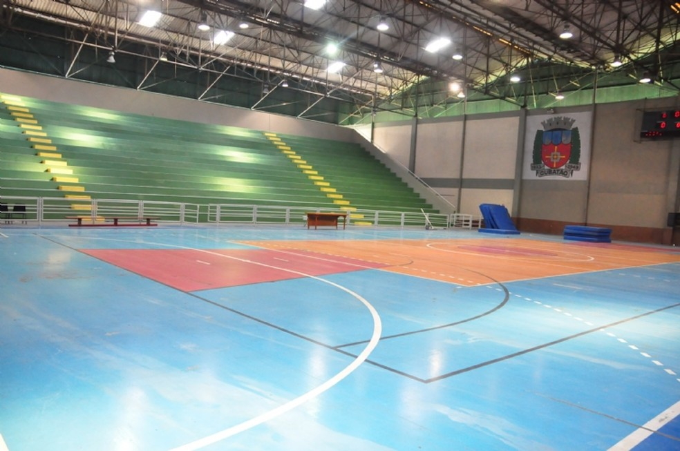 ... Ginásio Romerão será um dos locais que vão receber diversas modalidades  — Foto  Divulgação   ede006f077b06