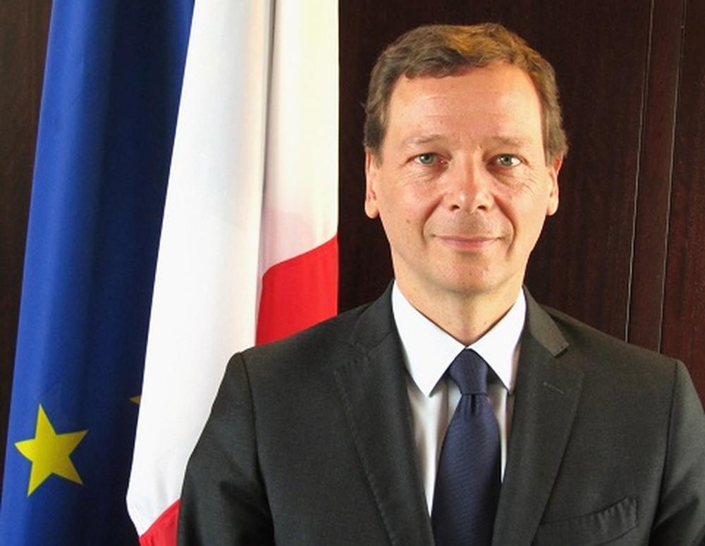Emmanuel Bonne, conselheiro diplomático do presidente francês — Foto: Divulgação/Embaixada da França no Líbano