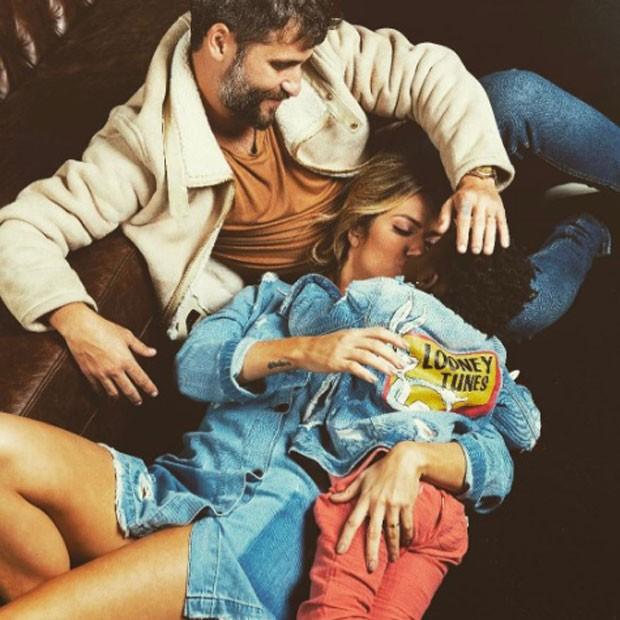 Bruno, Giovanna e Titi (Foto: Reprodução Instagram)