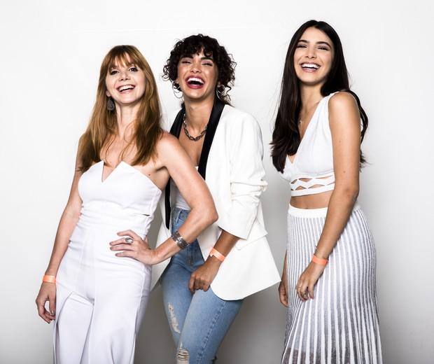 Priscila Assum, Giovana Cordeiro e Rayssa Bratillieri (Foto: Globo/João Miguel Júnior)