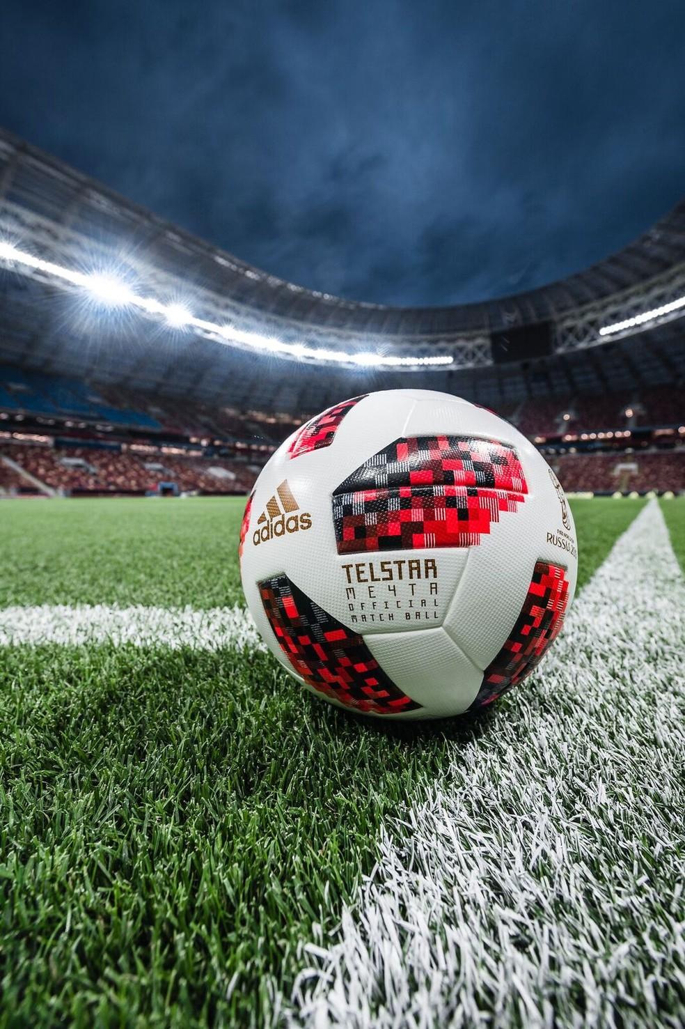 Bola oficial da fase mata-mata da Copa (Foto: Divulgação)