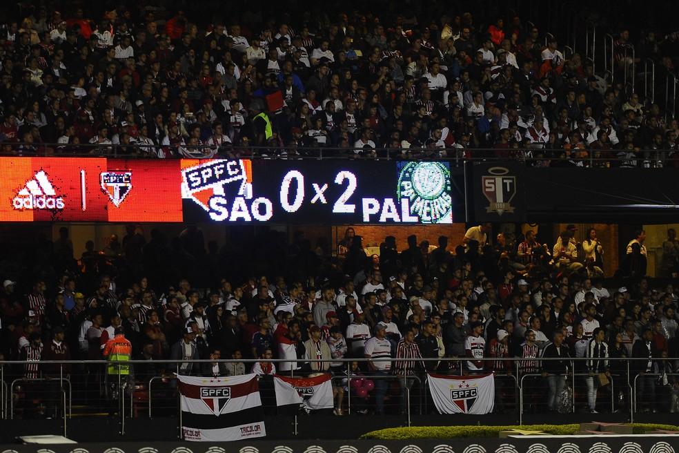 Tabu no Morumbi diante do São Paulo já durava 16 anos — Foto: Marcos Ribolli