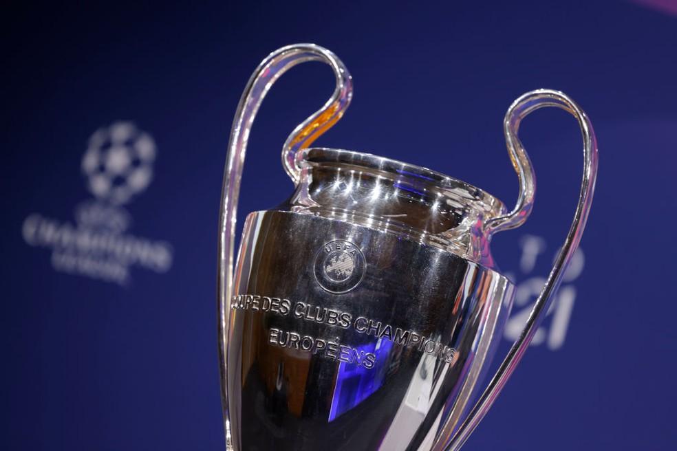 Taça da Liga dos Campeões da Europa — Foto: Getty Images