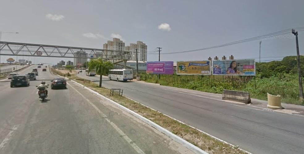 Trecho será interditado parcialmente a partir desta quinta-feira (29) — Foto: Google Street View