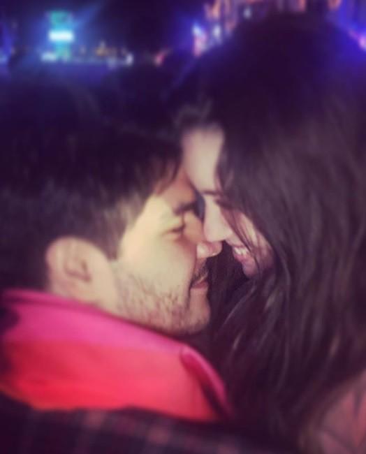 Nathalia Dill e o noivo, Pedro (Foto: Reprodução Instagram)