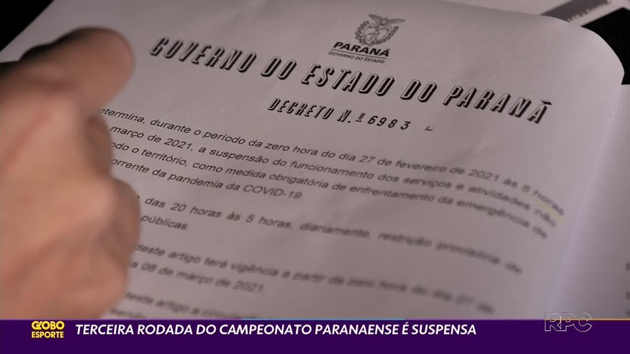 O que vai acontecer com o Campeonato Paranaense?