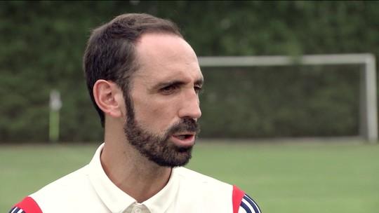 """Com o português em dia, Juanfran mira título no São Paulo: """"Tenho o sonho de ser campeão aqui"""""""