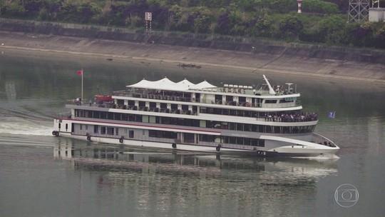 A Jornada da Vida - Rio Yangtsé: série visita hidrelétrica que tem elevador para navios