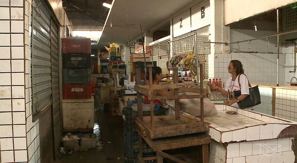 Projeto de reforma do Mercado Central está orçado em oito milhões de reais (Foto: Reprodução/TV Mirante)