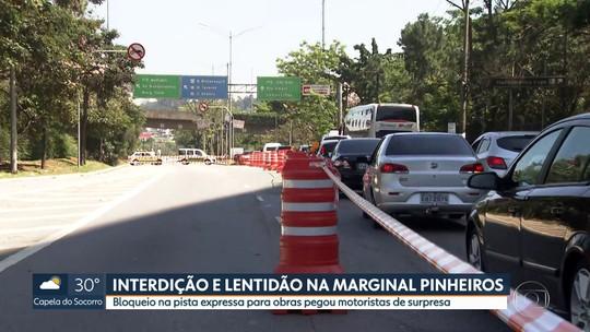 Motoristas enfrentam lentidão nas estradas e na Marginal Pinheiros no feriado