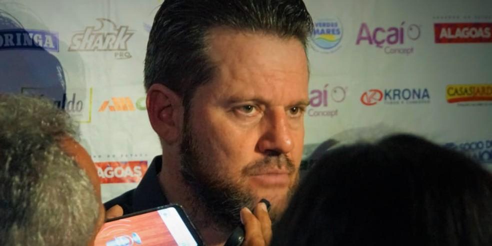 Argel Fucks, técnico do CSA — Foto: Matheus Pimenta/ASCOM CSA