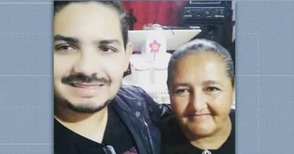 Pastora e filho morrem em decorrência da Covid-19 em Vitória da Conquista — Foto: Reprodução / TV Sudoeste