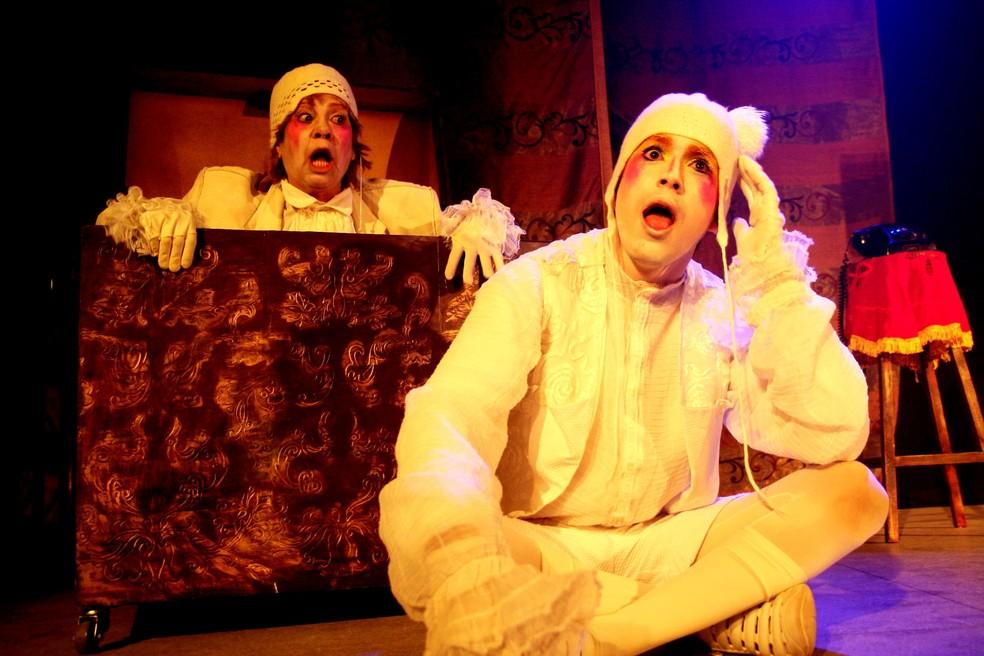 'Pluft, o Fantasminha' se apresenta no Teatro Isabel nos dias 20 e 21 de julho — Foto: Costa Neto/Divulgação