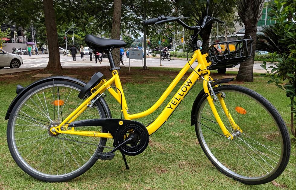 Yellow deve trazer mais de 20 mil bicicletas à São Paulo entre junho e dezembro de 2018 (Foto: Divulgação)