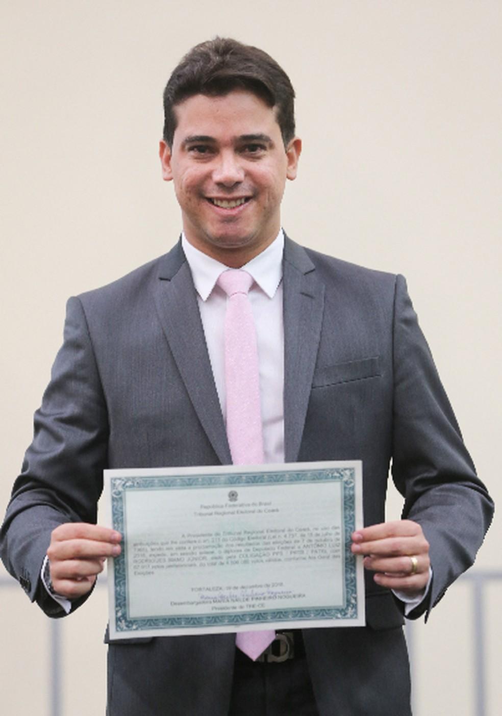 Deputado Júnior Mano (Patriotas) — Foto: Saulo Roberto/SVM