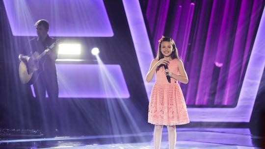 Sofia Cordeiro fala sobre a escolha da música-tema de Titanic no 'The Voice Kids': 'Foi difícil convencer a minha mãe'