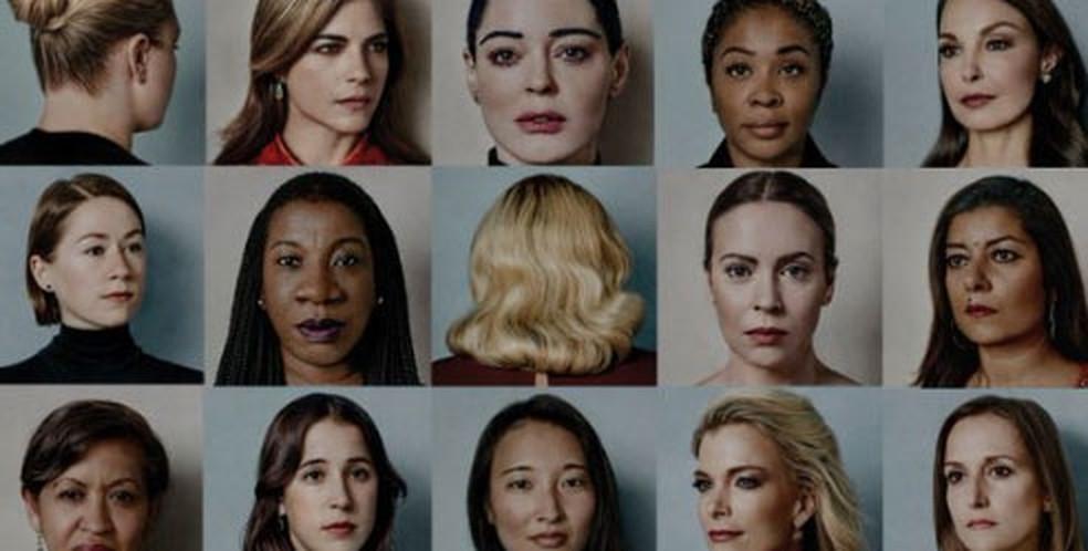 Movimento das mulheres que denunciaram o assédio foi escolhido 'personalidade do ano 2017' da revista americana 'Time' (Foto: Reprodução/Revista Time )