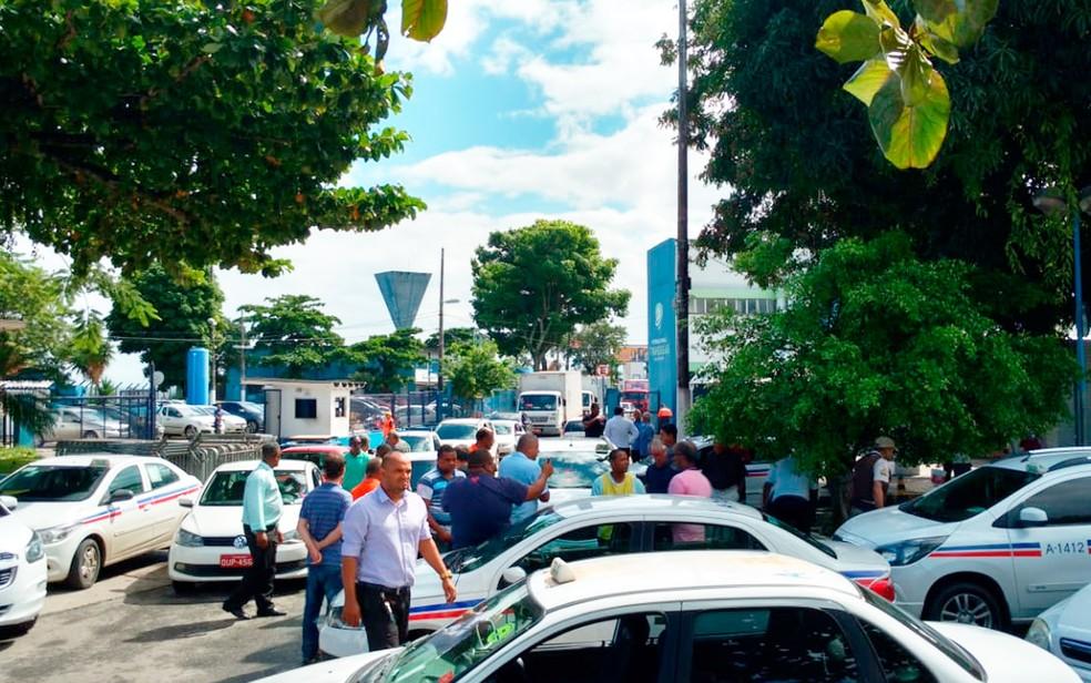 Categoria pede fiscalização da prefeitura a motoristas de app (Foto: João Adorno/Arquivo pessoal)