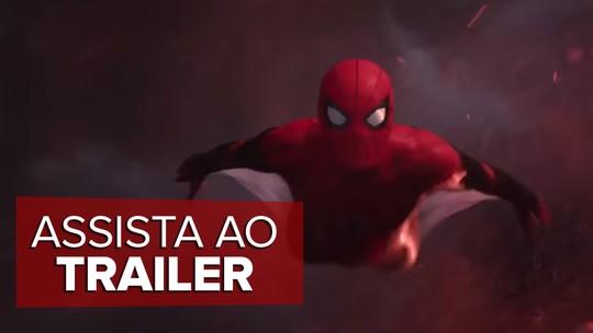 'Homem-Aranha: Longe de casa' ganha primeiro trailer com Peter Parker e o vilão Mystério; ASSISTA