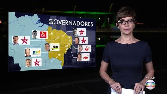 No Nordeste, maioria dos governadores se reelegeram