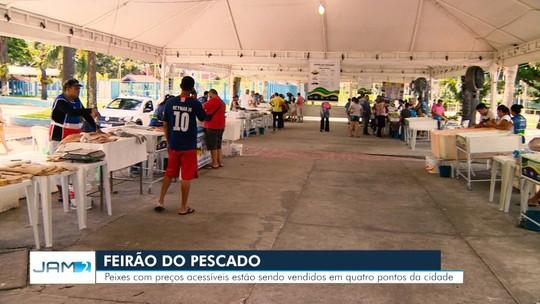 Feirão Semana Santa vai comercializar mais de 100t de pescado regional em Manaus