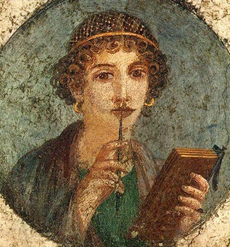 Safo de Lesbos (Foto: Naples National Archaeological Museum, via Wikimedia Commons)